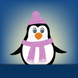 Penguin illustration Stock Photography