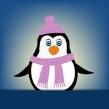 Penguin illustration Stock Photography