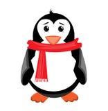 Penguin illustration isolated on white background Royalty Free Stock Image