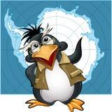 Penguin lecturer vector illustration