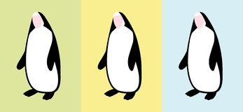Penguin nun vector Stock Photos