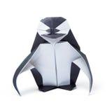 Penguin origami paper Stock Photos