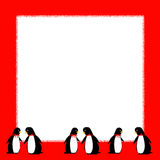Penguin party Royalty Free Stock Photography
