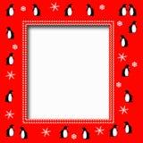 Penguin party Royalty Free Stock Photo