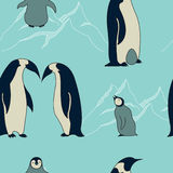 Penguin pattern Royalty Free Stock Photography