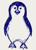 Penguin sketch Stock Photos