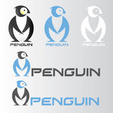 Penguin symbol. Vector illustration of penguin symbol in various color Vector Illustration
