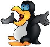 Penguin Talking Stock Photo