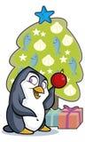 Penguin Tree Stock Photo