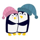 Penguin vector character Stock Photo