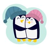 Penguin vector character Royalty Free Stock Photo