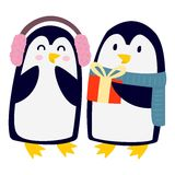 Penguin vector character Royalty Free Stock Photos