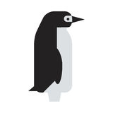 Penguin vector character. Penguin vector illustration character. Cartoon funny cute animal isolated. Antarctica polar beak pole winter bird. Funny outdoors wild vector illustration