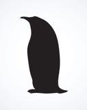 Penguin. Vector drawing Stock Photos