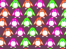 Penguin wallpaper Royalty Free Stock Images