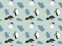 Penguin Wallpaper Vector Illustration 1 Royalty Free Stock Image