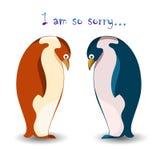 penguins διανυσματική απεικόνιση