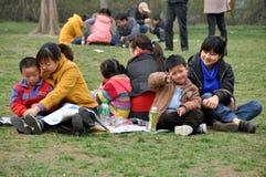 pengzhou парка семьи фарфора Стоковые Фото