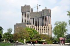 pengzhou роскоши конструкции фарфора квартир Стоковое фото RF