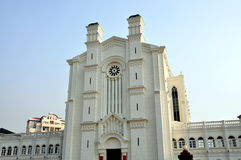Pengzhou, China: Bai Lu French Church Replica Royalty Free Stock Image