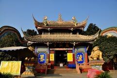 Pengzhou, China: Ci Ji Buddhist Temp;le Stock Image