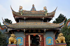 Pengzhou, China: Ci Ji Temple Stock Photo