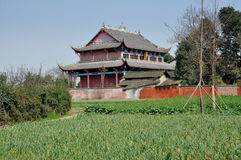 Pengzhou, China: Dong Yua Shi Temple Stock Photo