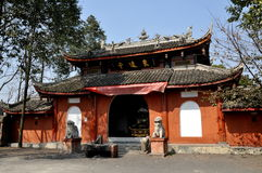 Pengzhou, China: Dong Yuan Shi Temple Royalty Free Stock Images
