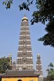 Pengzhou, China: Long Xing Pagoda Stock Images