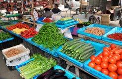 Pengzhou, China: Mercado de Tian Fu Foto de Stock