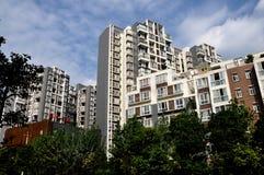 Pengzhou, China: Modern Luxury Apartments Stock Photo