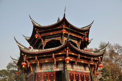 Pengzhou, China: Pagoda at Long Xing Monastery Royalty Free Stock Photos