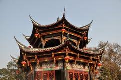 Pengzhou, China: Pagoda at Long Xing Monastery Royalty Free Stock Photos