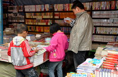 Pengzhou, China: People at Bookstore Stock Images