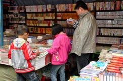 Pengzhou, China: People at Bookstore Stock Images