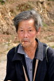 Pengzhou, China: Portrait of Old Farmer Stock Photos