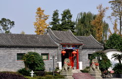 Pengzhou, China: Traditional Chinese Home Royalty Free Stock Photos