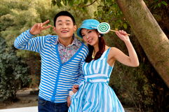 Pengzhou, China: Two Fashion Models at Photo Shoot Stock Photography