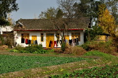 Pengzhou, Chine : Ferme de Sichuan photographie stock