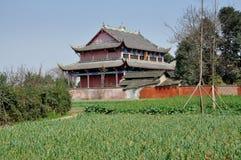 Pengzhou, Cina: Tempiale di Yua Shi del dong Fotografia Stock