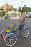 penh phnom trishaw Στοκ φωτογραφία με δικαίωμα ελεύθερης χρήσης