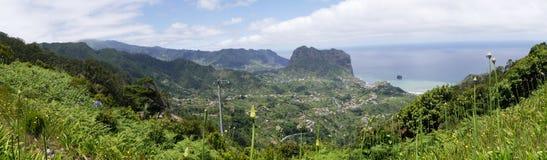 Penha de à guia oder Adlerfelsen, Madeira, Portugal Lizenzfreie Stockfotografie