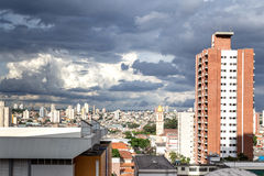 Penha, a neighborhood in Sao Paulo, Brazil.  Stock Photos