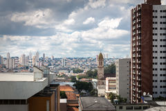 Penha, a neighborhood in Sao Paulo, Brazil.  Stock Photo