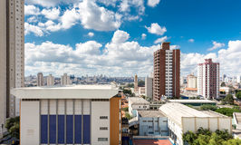 Penha, a neighborhood in Sao Paulo, Brazil.  Royalty Free Stock Photography