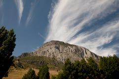Penhasco da montanha - Coyhaique - Chile imagem de stock royalty free