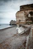 Penhasco de Etretat em Normandy, França Imagens de Stock Royalty Free