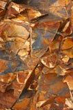 Penhasco de rochas sedimentares Imagem de Stock