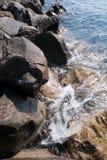 Penhasco do mar Imagens de Stock Royalty Free