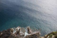 Penhasco em Madeira Imagem de Stock